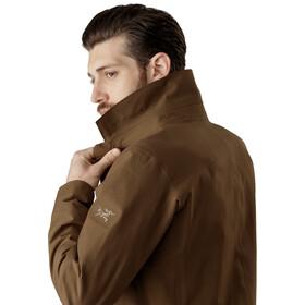 Arc'teryx Keppel Trench Coat Herr Griz